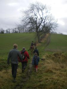3 oldie parents plus a 17yo, 13yo, 12yo, 10yo, three dogs and a pony go wild in the countryside...