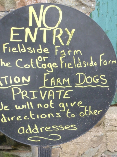 We enjoyed this Lake District farmer's irritation with tourists.