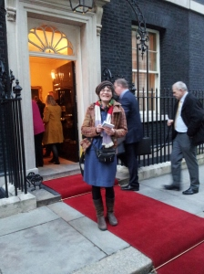 I think the red carpet was for the President of Malawi, No 10's earlier visitor.