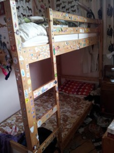 Hope I don't miss these bunk beds too much.